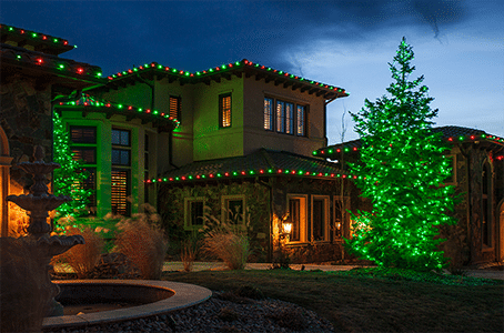 outdoor christmas lighting a brief history - Professional Outdoor Christmas Decorations